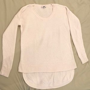 Madewell Off-White Knitted Sweater